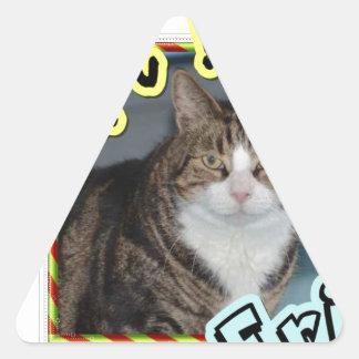 Adopt Eric Triangle Sticker