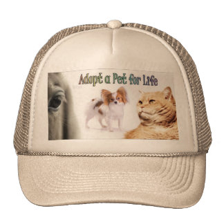 adopt has fart for life on cap hat