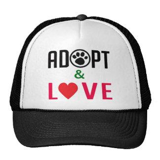 Adopt & Love Hat