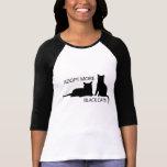 Adopt More Black Cats Tshirt