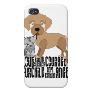 Adopt Only From Shelters or a Rescue! Case For iPhone 4