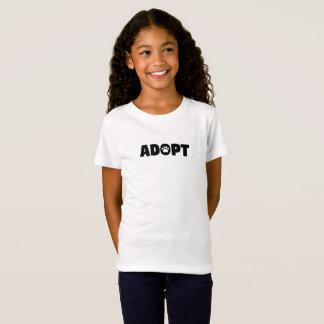 Adopt Paw Print Kids T-Shirt