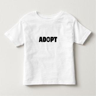 Adopt Paw Print Toddler T-Shirt