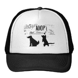"""""""ADOPT. RESCUE. SAVE."""" CAP"""