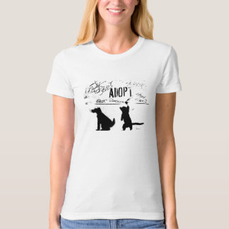 """""""ADOPT. RESCUE. SAVE."""" T-Shirt"""