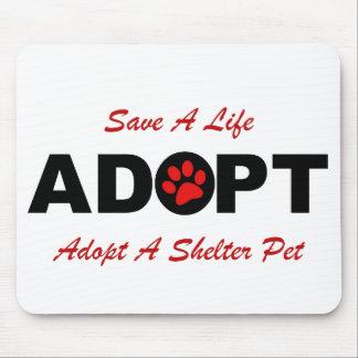 Adopt Save A Life Mousepad
