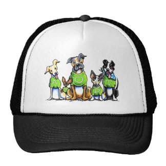 Adopt Shelter Dogs Green Tees Think Adoption Hats
