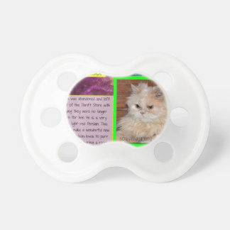 ADOPT Sweet Nelson Baby Pacifier