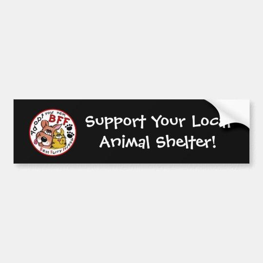 Adopt Your Next BFF Bumper Sticker
