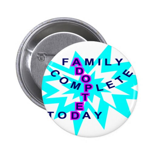 Adopted12000 Pinback Button