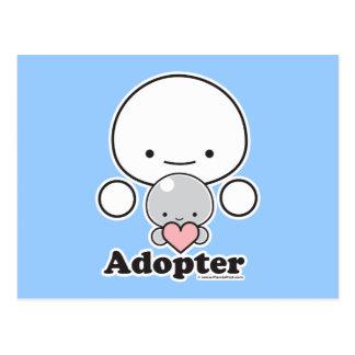 Adopter Postcard