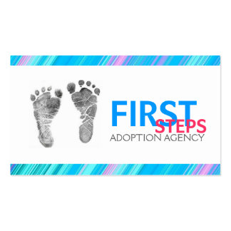 Adoption Agency Agent Business Card
