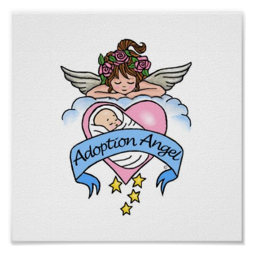 Adoption Angel of Love Posters