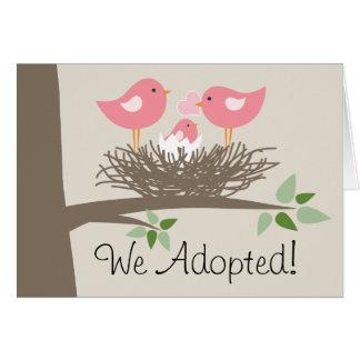 Adoption Announcement for Gay Couple - Bird's Nest