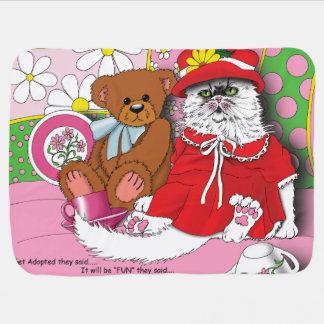 Adoption Cat Baby Blanket
