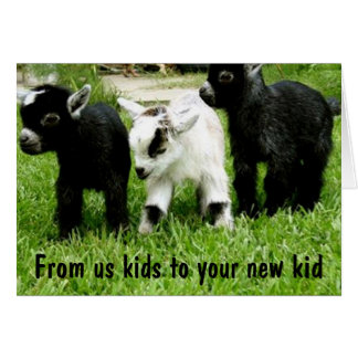 ADOPTION CONGRATS TO YOUR KID FROM US KIDS GREETING CARD