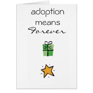 adoption congratulations card