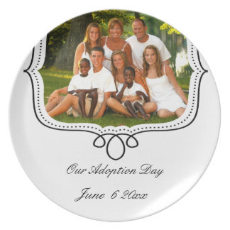 adoption day plates
