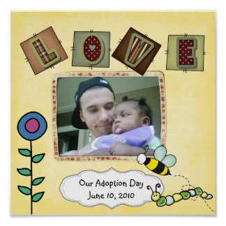 adoption day poster