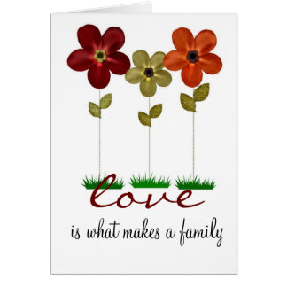 adoption family card