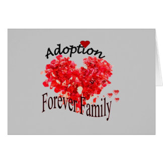 Adoption Forever Family Card