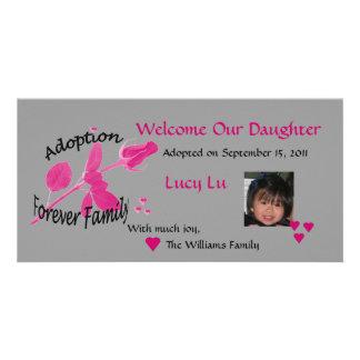 Adoption Forever Family Photo Card