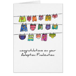adoption greeting card