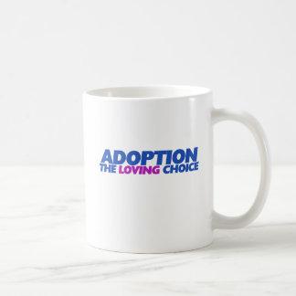 Adoption is the loving choice mug