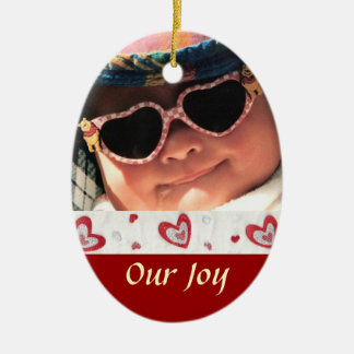 Adoption Photo Keepsake Ornament