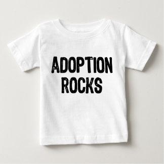 Adoption Rocks Baby T-Shirt