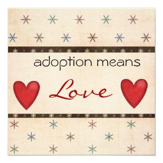 Adoption Shower Invite