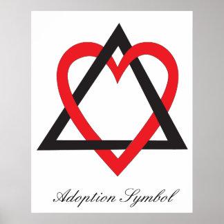 Adoption Symbol Poster