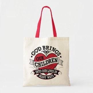 Adoption Tattoo Budget Tote Bag