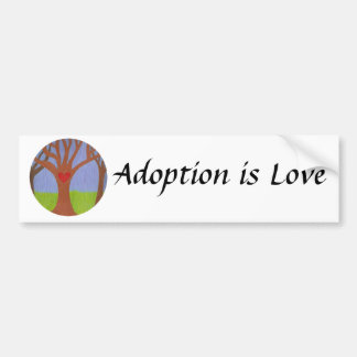 Adoption Tree Bumper Sticker