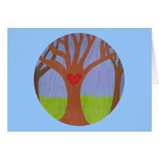 Adoption Tree Congratulations Greeting Card