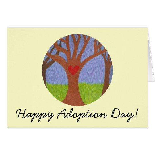 Adoption Tree Happy Adoption Day! Card