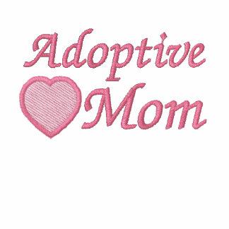 Adoptive Mom Embroidered Shirt
