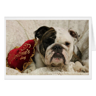 Adora-bull Valentine's Day Card