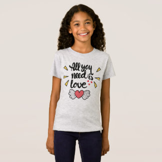 Adorable All You Need is Love   Jersey Shirt
