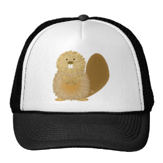 Adorable Animal Drawings: Beaver Cap