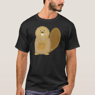 Adorable Animal Drawings: Beaver T-Shirt