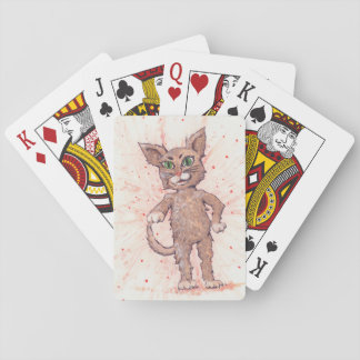 Adorable Assertive Cat Deck Of Cards