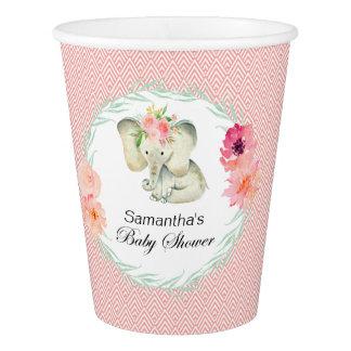 Adorable Baby Elephant Girl Baby Shower