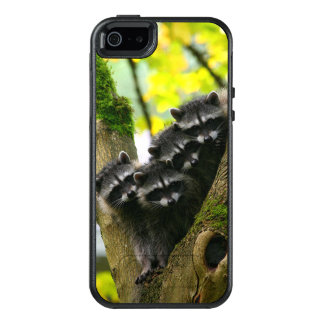 Adorable Baby Raccoons OtterBox iPhone 5/5s/SE Case