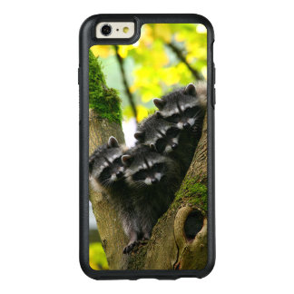 Adorable Baby Raccoons OtterBox iPhone 6/6s Plus Case