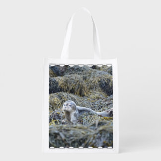 Adorable Baby Seal Grocery Bag