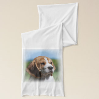 Adorable Beagle Dog Scarf