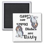 Adorable Beagle Puppy Dishwasher Magnet
