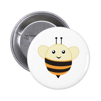 Adorable Bee Little Zoo 6 Cm Round Badge