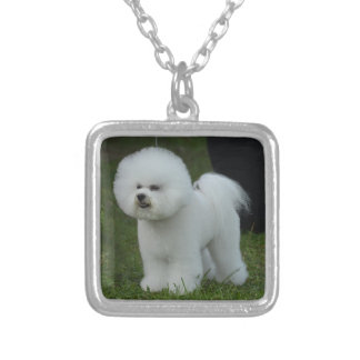 Adorable Bichon Personalized Necklace